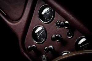 Classic car interior