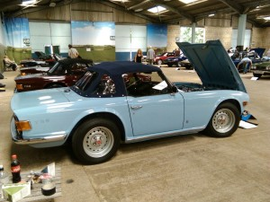Fully restored TR6